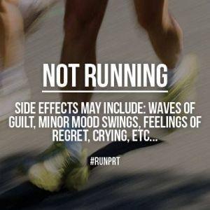 not running