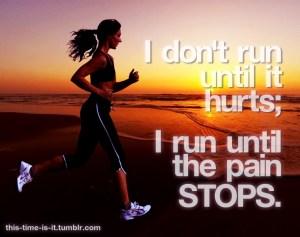 pain run